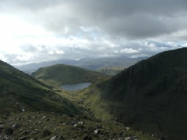 Grisedale Tarn from St Sunday Crag