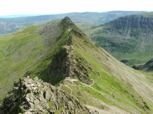 Striding Edge is Magnificent - © Rob Shephard 2007