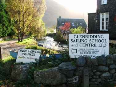 Glenridding Sailing Centre - sailing on Ullswater
